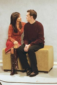 I'm a little Chandler & a little Monica. I'm OCD about somethings and I can't smile like a normal person.