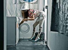 Zohara fashion print tights