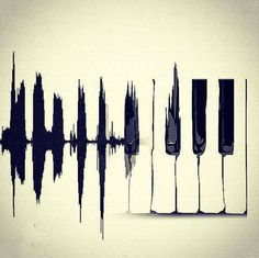 Not sure id go for, not playing the piano and all but cool looking. Heart beat monitor to piano is a great tattoo idea. Music Tattoos, Tatoos, Piano Tattoos, Guitar Tattoo, Love Music Tattoo, Plakat Design, Piano Keys, Music Is Life, Music Music