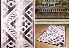 First Romanian brand that creates wool hand-tufted rugs with reinterpreted Romanian traditional patterns. Rug Inspiration, See Images, Hand Tufted Rugs, Dares, Textiles, Animal Print Rug, Palette, Interior Design, Pattern