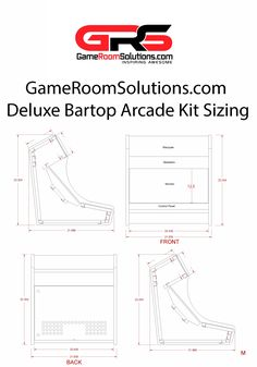 Bartop Arcade Kit Deluxe | Game Room Solutions