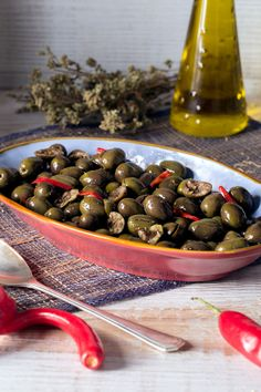 Antipasto Recipes, Olives, Finger Food, Fett, Food For Thought, Italian Recipes, Side Dishes, Salads, Stuffed Mushrooms