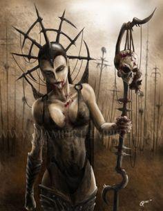 vampire-empire.com dark vampire artwork