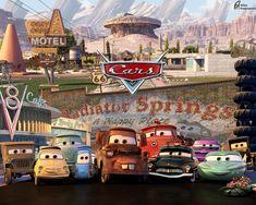 Cars 2 Cars 2 Movie, Disney Cars Movie, Disney Cars Party, Pixar Movies, Radiator Springs, Disneyland California Adventure, Cars Birthday Parties, 5th Birthday, Birthday Ideas