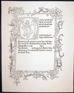 Medieval Books, Medieval Life, Medieval Manuscript, Medieval Art, How To Do Calligraphy, Beautiful Calligraphy, Calligraphy Letters, Illuminated Letters, Illuminated Manuscript