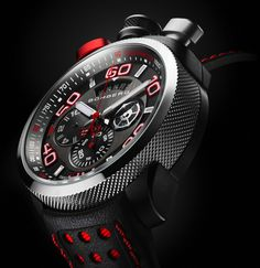 Neuchâtel, Switzerland based Bomberg, is a new watch brand that makes a line of audaciously styled watches that come with a unique bayonet system that allows the watch body to removed from the case and used as a pocket watch. Modern Watches, Stylish Watches, Luxury Watches For Men, Cool Watches, Unique Watches, Swiss Army Watches, Patek Philippe, Sport Watches, Watch Brands