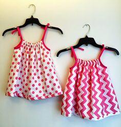 Dress A Girl / Sew Urbane / Pillowcase Dress