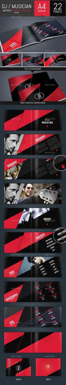WeDeeJay DJ Booking Agency Tri-Fold Brochure Tri fold brochure - dj resume