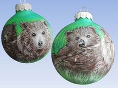 CUSTOM ORDER Christmas ball Christmas Ornaments by SweetenYourHome