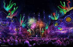 [HD] Disneyland Forever first public showing Full Complete Show! Experience Disneyland fireworks like never before! Watch as magic happens in the. Disney Pixar, Walt Disney, Disney Parks, Disney Theme, Disney Films, Disney Cruise, Disneyland 2015, Disneyland Resort, Disney Vacations