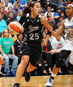 San Antonio Silver Stars. Becky Hammon.