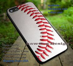 Basseball Texture, Baseball Texture, Sport, Art Texture, case/cover for iPhone 4/4s/5/5c/6/6 /6s/6s  Samsung Galaxy S4/S5/S6/Edge/Edge  NOTE 3/4/5 #sport ii
