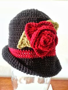 Womens Crochet Fedora Hat by MissyCreativeCrochet on Etsy, $20.00