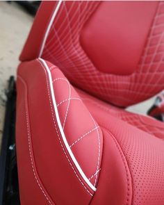 Stunning trim work on this seat trimmed by of Car Interior Upholstery, Automotive Upholstery, Automotive Engineering, Automotive Art, Automotive Locksmith, Automotive Industry, Custom Car Interior, Truck Interior, Leather Car Seats