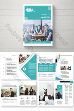 Atmospheric high-end international education complete picture Brochure Layout Template, Brochure Template, Templates, Brochure Layout, Brochure Design, Medical Brochure, Cartoon Sea Animals, Education Banner, Creative Brochure