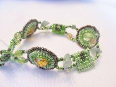 Shared Treasures Boutique - Guatemalan Beaded Bracelet - Geometric pattern - Green, $20.00 (http://www.sharedtreasuresboutique.com/guatemalan-beaded-bracelet-geometric-pattern-green/)