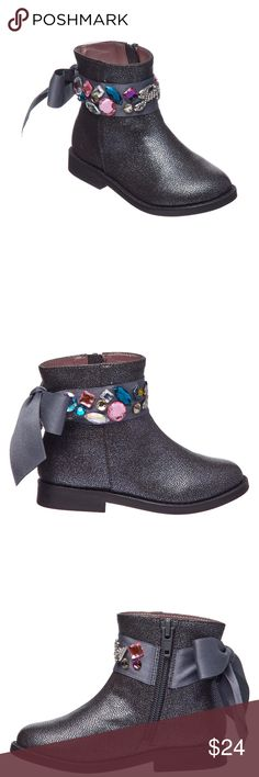 28c3950285 Juicy Couture Lil Napples Ankle Boots -Toddler Juicy Couture Lil Napples Ankle  Boots - Toddler