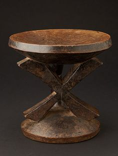 www.africaandbeyond.com. Tonga Stool from Zimbabwe. Decorative sculpture and comfortable to sit on!