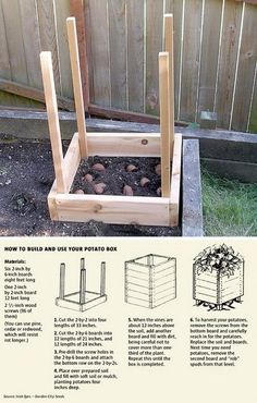 22 Grow 100 lbs Of Potatoes In 4 Square Feet
