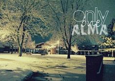 "Gelston Hall in Winter, Alma College, Alma, MI. ""Only One Alma"""