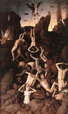 Dieric Bouts Elder, Judgement, Demons