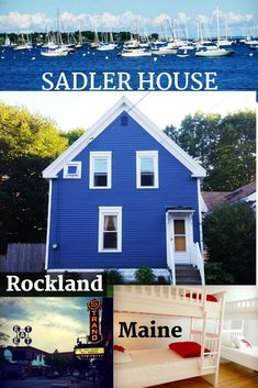 Sadler House in Rockland is a family-friendly in-town antique home where you can relax all week and take in town on foot! Hit up our home page to get started and be sure to book directly to avoid fees! hotel restaurant travel tips New England States, New England Fall, New England Travel, Camden Maine, Thailand Travel Tips, Fun Places To Go, International Travel Tips, Dream Vacations