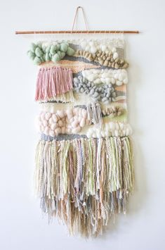 Love the look of bespoke woven wall hangings but don't know where to start? Bonnie Christine shares her guide with links to tutorials to make the process easier.