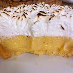 Lime meringue pie at Bayon Pastry School, Siem Reap, Cambodia. A good cake for a good cause.