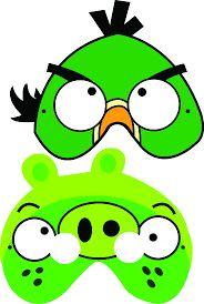 Kuvahaun tulos haulle angry birds masks template