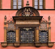 window, Prague