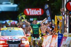 Tommy V - rock star :)  Tour de France  2012 stage - 16