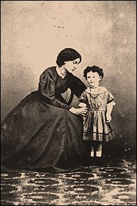 Jane Morris and daughter May