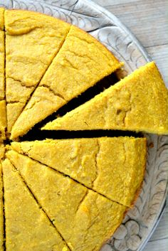 Savory pumpkin cornbread with just a hint of sweetness is the perfect side for soups and stews.