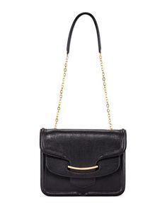 Heroine Shoulder Bag, Black by Alexander McQueen at Bergdorf Goodman.
