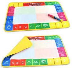 Funny Magic Water Drawing Painting Writing Board Mat Pen For Children Kids Toy Drawing For Kids, Painting For Kids, Children Painting, Magic Doodle, Water Drawing, Board For Kids, Drawing Tablet, Preschool Education, Recipe For Mom