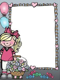 Happy Birthday Frame, Birthday Frames, Class Decoration, School Decorations, School Binder Covers, Binder Cover Templates, School Border, Notebook Cover Design, Boarder Designs