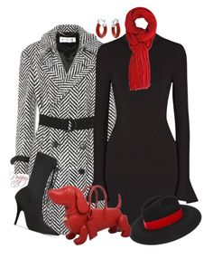 Winter! by bainbridgegal on Polyvore featuring MICHAEL Michael Kors, Yves Saint Laurent, Yeezy by Kanye West, Thom Browne, Bling Jewelry and Helene Berman