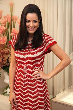crochet dress by Vanessa Montoro. For christmas :)