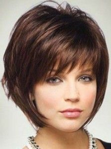 Short Hairstyles For Fat Faces 2