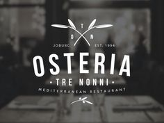 Update a logo for a landmark Italian restaurant that has been open ...