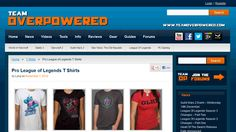 What to wear an awesome LoL T shirt? of course you do! Check out these pro league of legends t shirts on teamoverpowered.com