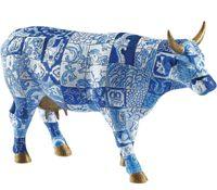 blue cow Cow Parade