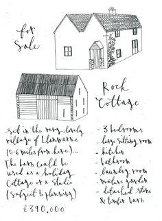 Cottage for sale via Bailey's Home & Garden, sounds a dream!