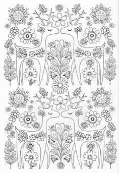 Scandinavian Coloring Book Pg 8