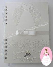 Agenda da noiva com caixa coordenada
