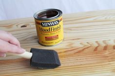 Minwax Two Tone Oil Based Stain on Pine Woodworking Apron, Woodworking Lathe, Woodworking Projects, Woodworking Beginner, Stain On Pine, Oil Based Stain, Minwax, Dark Stains, Wood Working For Beginners