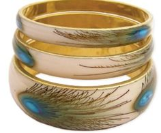 Peacock bangle... GREAT GIFT IDEA FOR BIRTHDAY'S, ETC... Peacock Jewelry Accessories – As low as 83 cents and free shipping – Bangles, Hair Clip, Necklace, Ear Rings