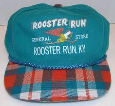 b4a1de774e1 ROOSTER RUN General Store Rooster Run Ky. Vintage 80 s Dolphins Snapback Hat   OttoHeadwear  BaseballCap