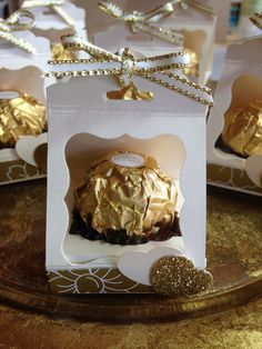 Stampin Up Ferrero Rocher favour