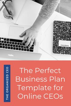This business plan template was designed specifically for online business owners. It will help you learn how to write a business plan, what to include, and set the foundation for your small business. Online Business Plan, Writing A Business Plan, Business Plan Template, Starting A Business, Business Planning, Business Ideas, Spelling And Grammar, Business Organization, Online Entrepreneur